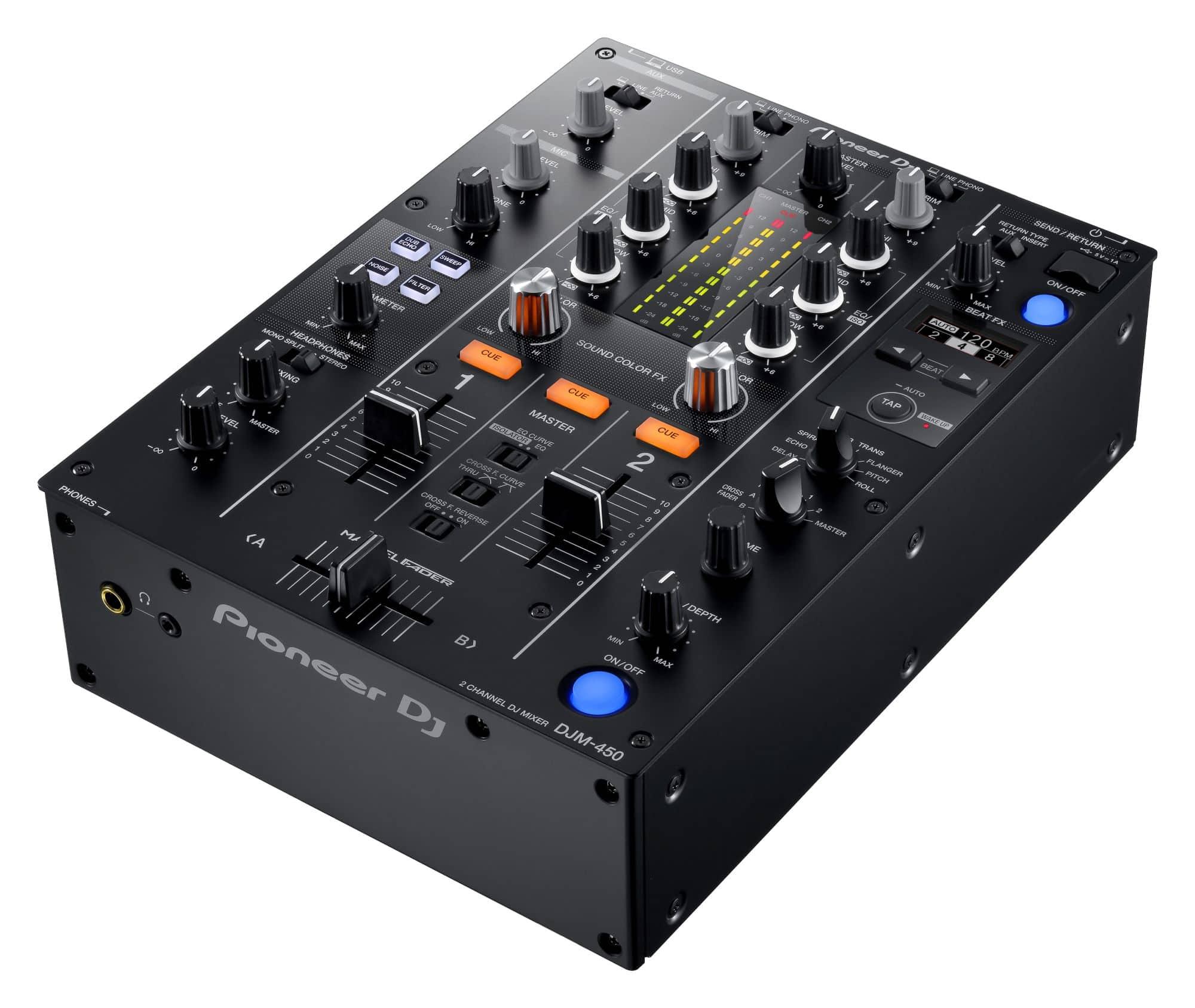 Djmixer - Pioneer DJ DJM 450 - Onlineshop Musikhaus Kirstein