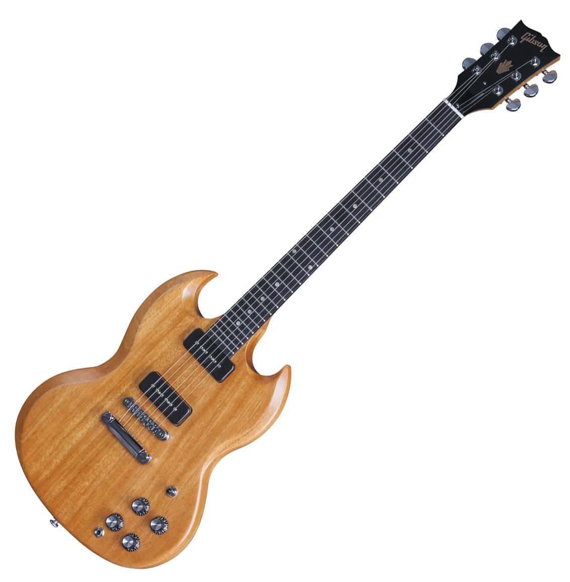 Gibson SG Naked 2016 Natural Vintage Gloss Limited Run