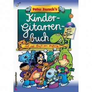 Gitarrelernen - Peter Bursch's Kinder Gitarrenbuch CD - Onlineshop Musikhaus Kirstein