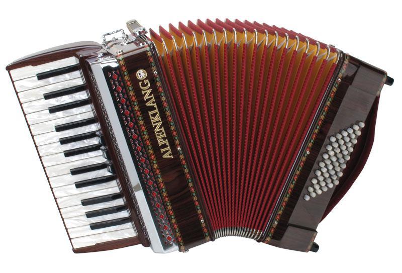 Akkordeons - Alpenklang Pro Akkordeon II 48 M Palisander - Onlineshop Musikhaus Kirstein