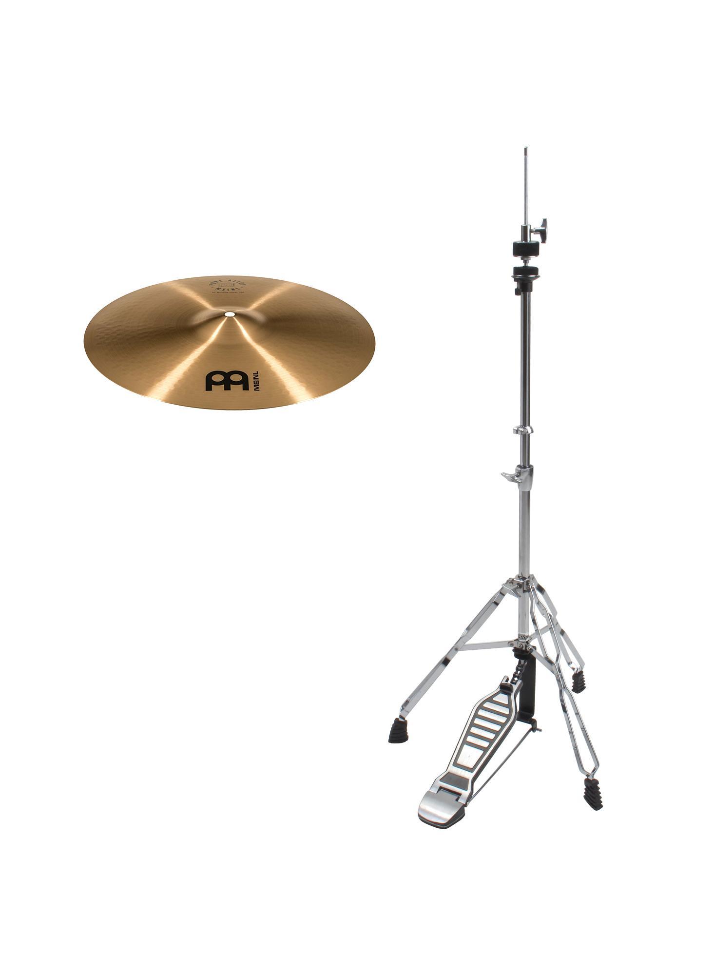 Meinl Pure Alloy 15' Medium Hi Hat Set inkl. HiHat Maschine