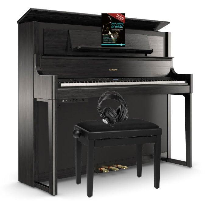 Digitalpianos - Roland LX708 CH Digitalpiano SM Set Anthrazit - Onlineshop Musikhaus Kirstein