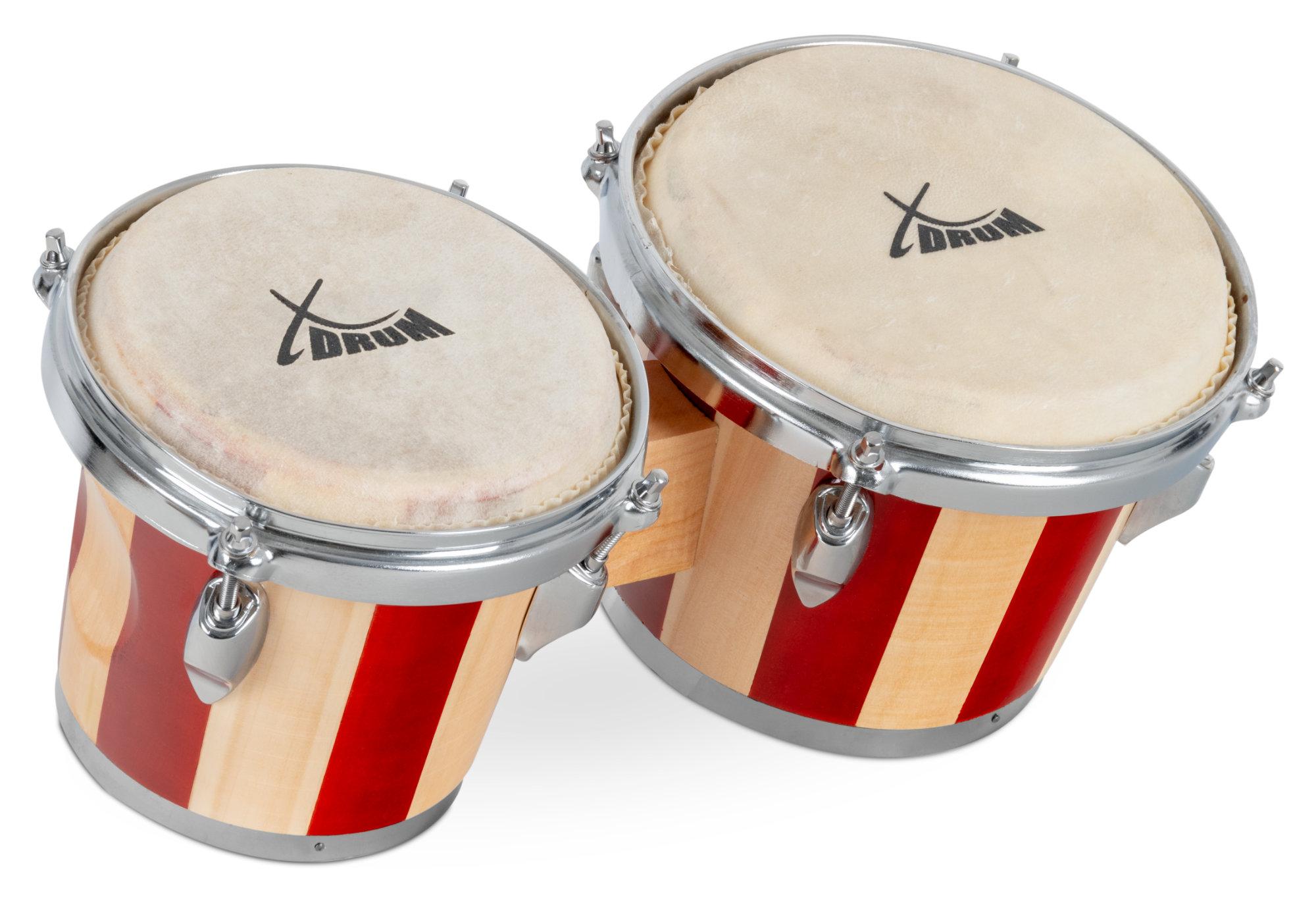Percussion - XDrum Bongos Retro Retoure (Zustand sehr gut) - Onlineshop Musikhaus Kirstein
