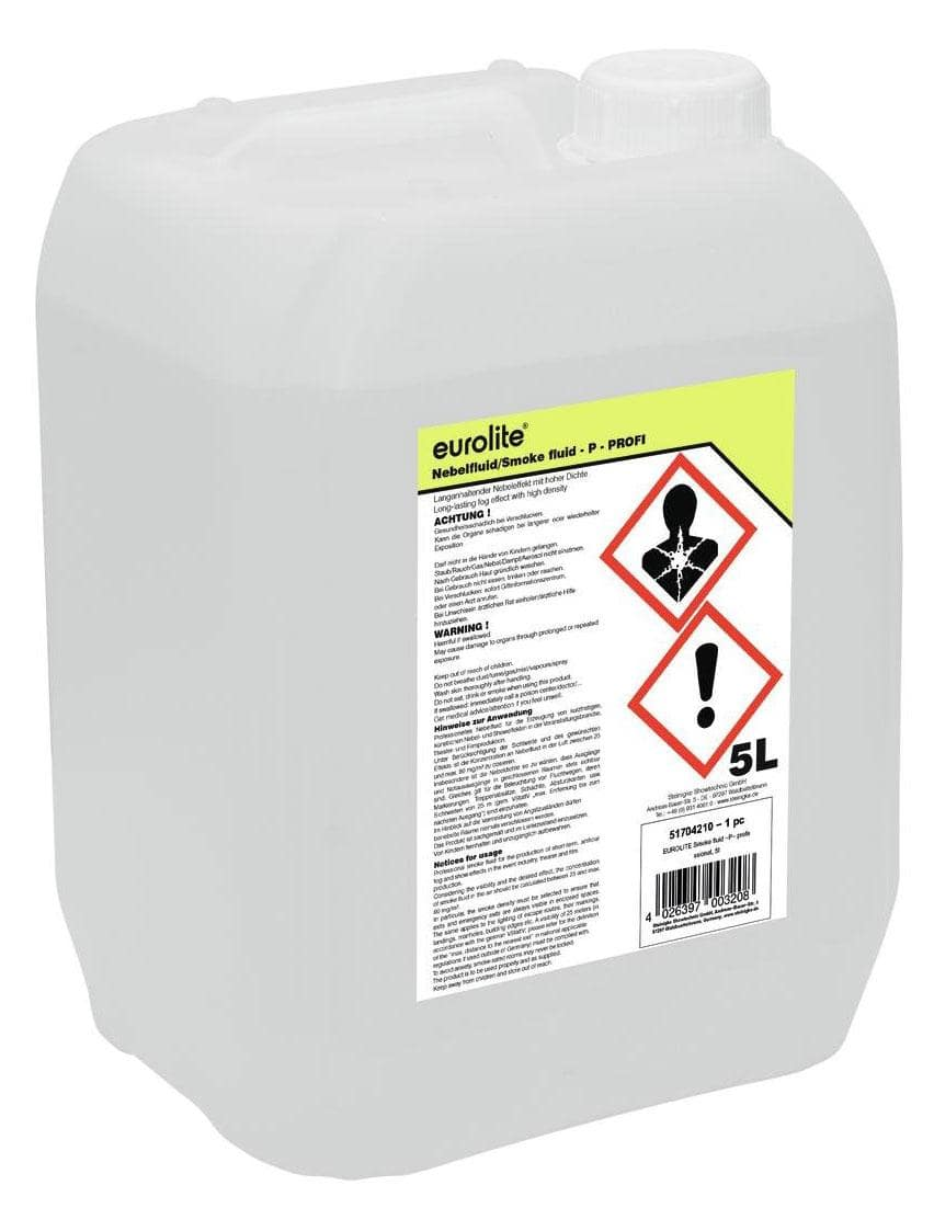 Eurolite Smoke Fluid 'P' 5 l Nebelfluid Profession