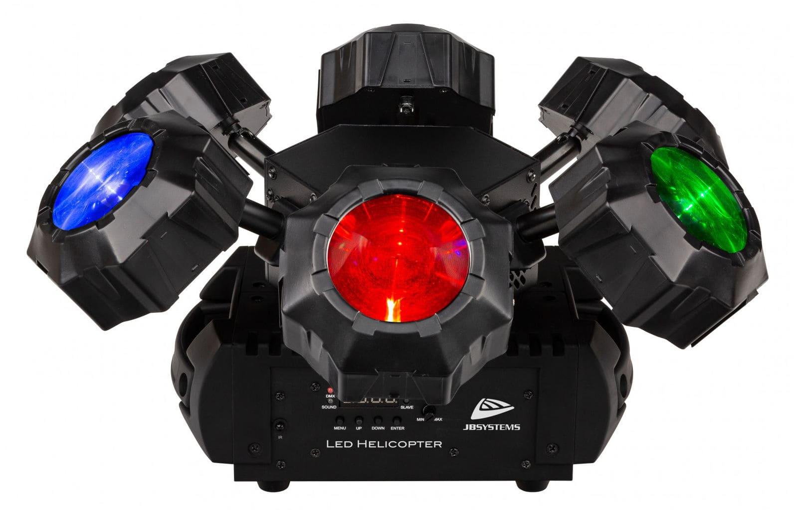 Lichteffekte - JB Systems LED Helicopter - Onlineshop Musikhaus Kirstein