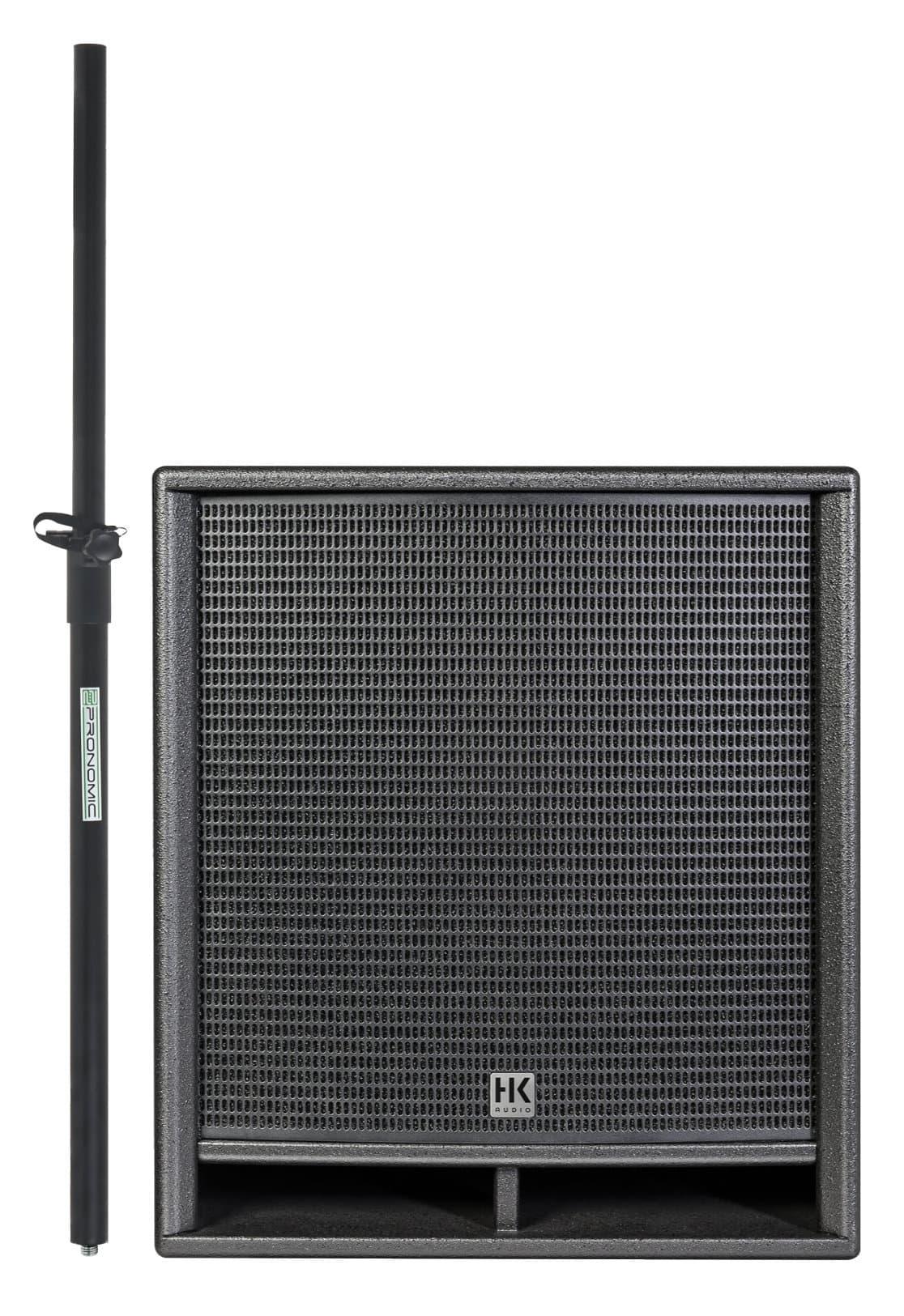 Pasubwoofer - HK Audio PR O 118 SUB D2 Set inkl. Distanzstange - Onlineshop Musikhaus Kirstein