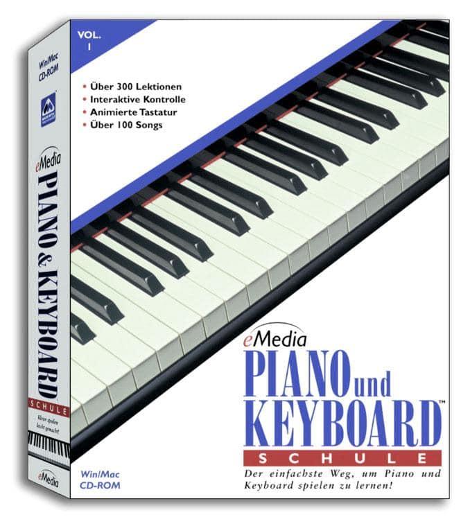 Klavierlernen - eMedia Klavier und Keyboardschule für Einsteiger, Vol. 1 - Onlineshop Musikhaus Kirstein