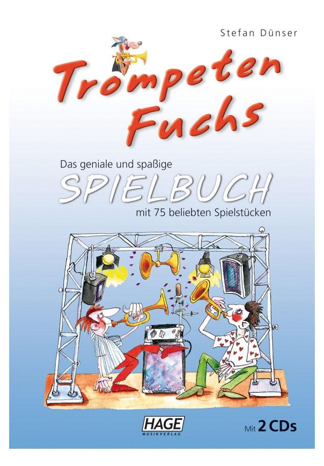 Trompetelernen - Trompeten Fuchs Spielbuch mit 2 CDs - Onlineshop Musikhaus Kirstein