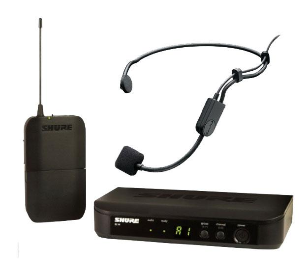 Shure BLX14|P31 S8 Headset Funksystem