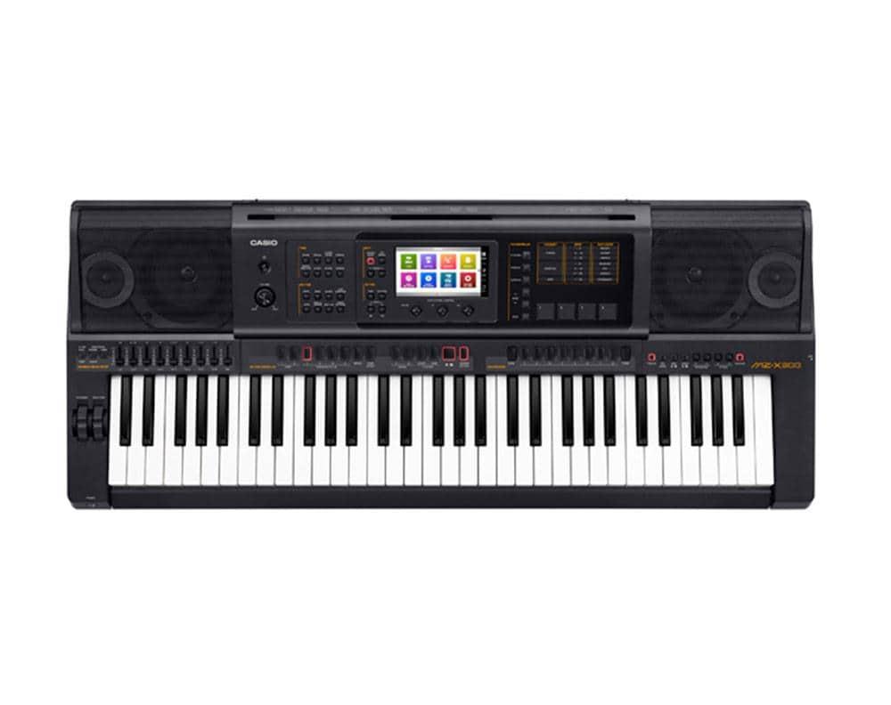 Casio MZ X 300 Keyboard 61 Tasten, schwarz