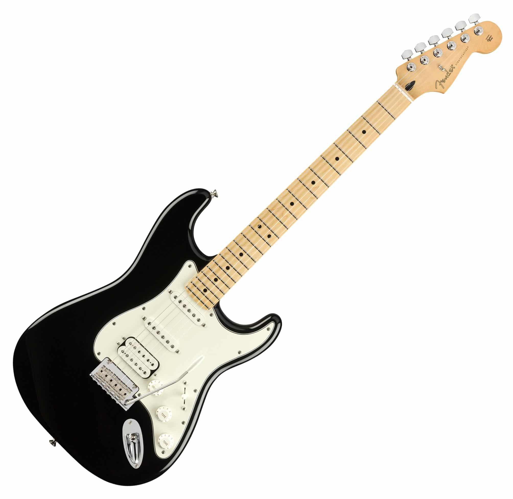 Egitarren - Fender Player Strat HSS MN BLK - Onlineshop Musikhaus Kirstein