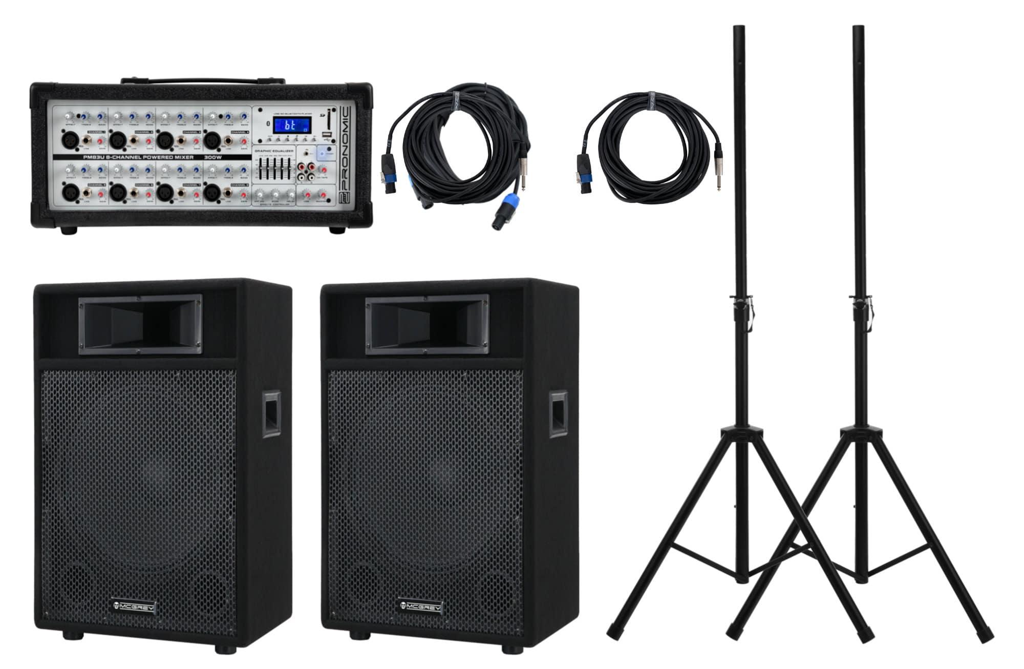 Pronomic StagePower PM83 115 PA Set