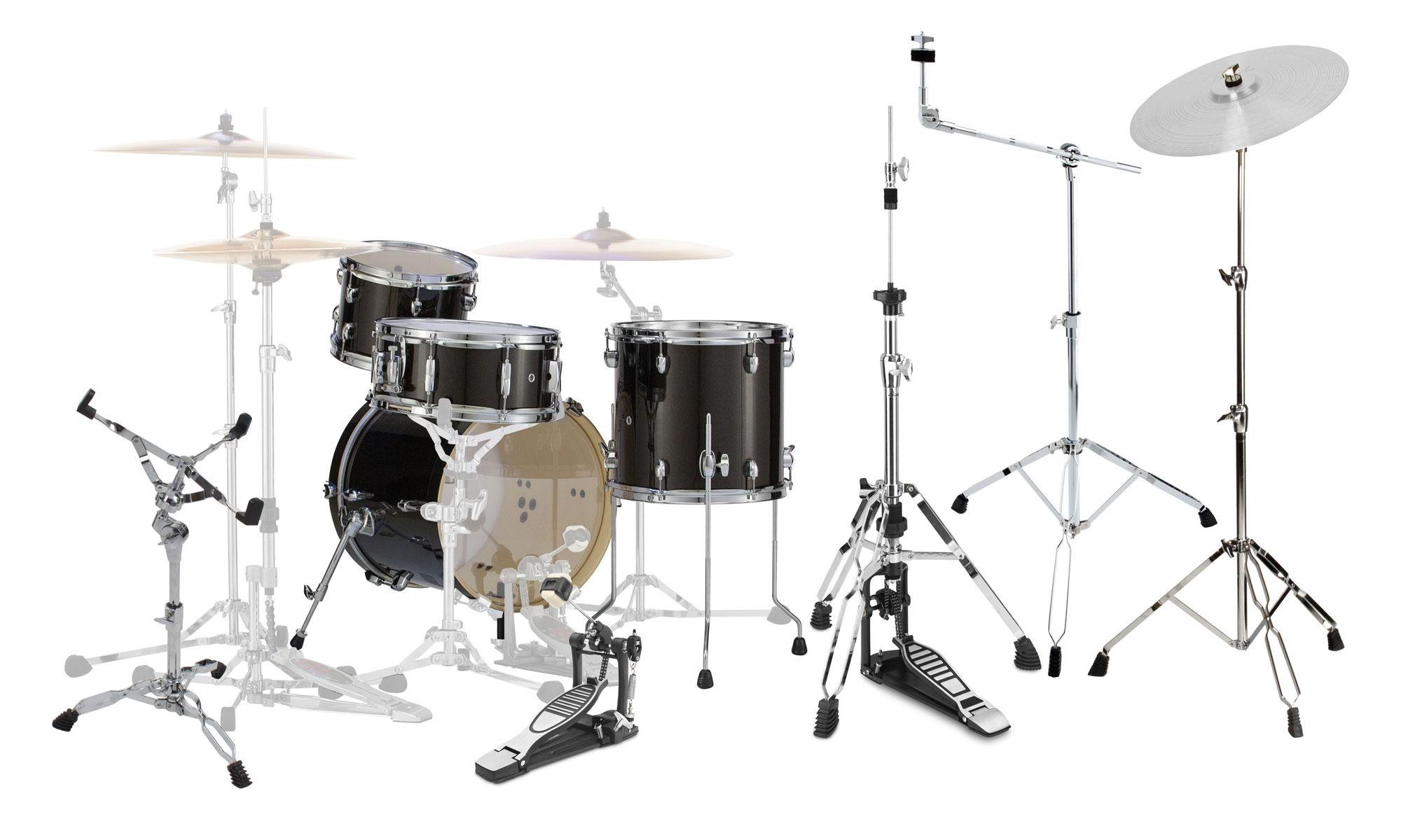 Pearl MDT764P|C Shellset 701 Black Gold Sparkle SET mit Hardware Pack