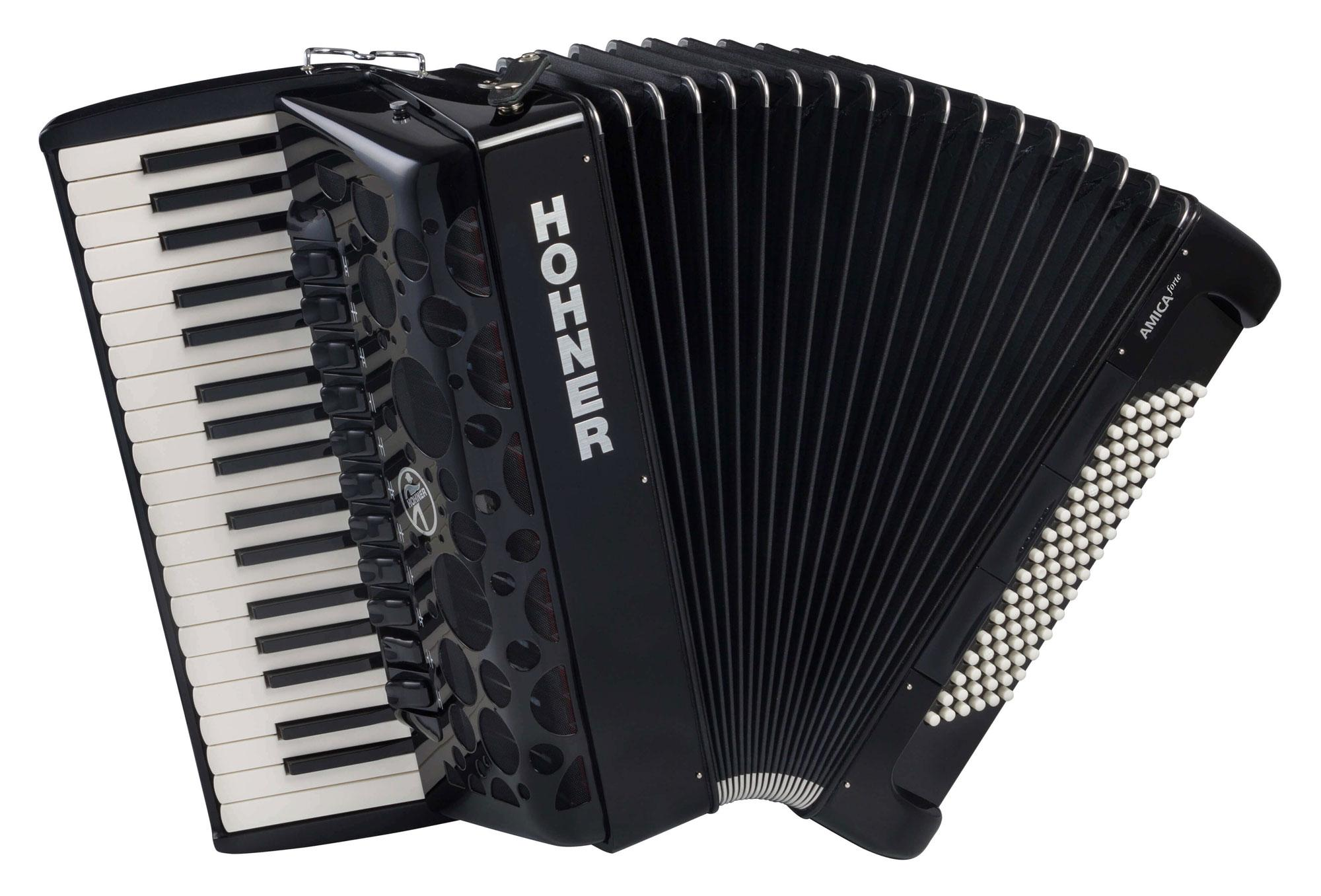Hohner Amica IV 96 Forte schwarz