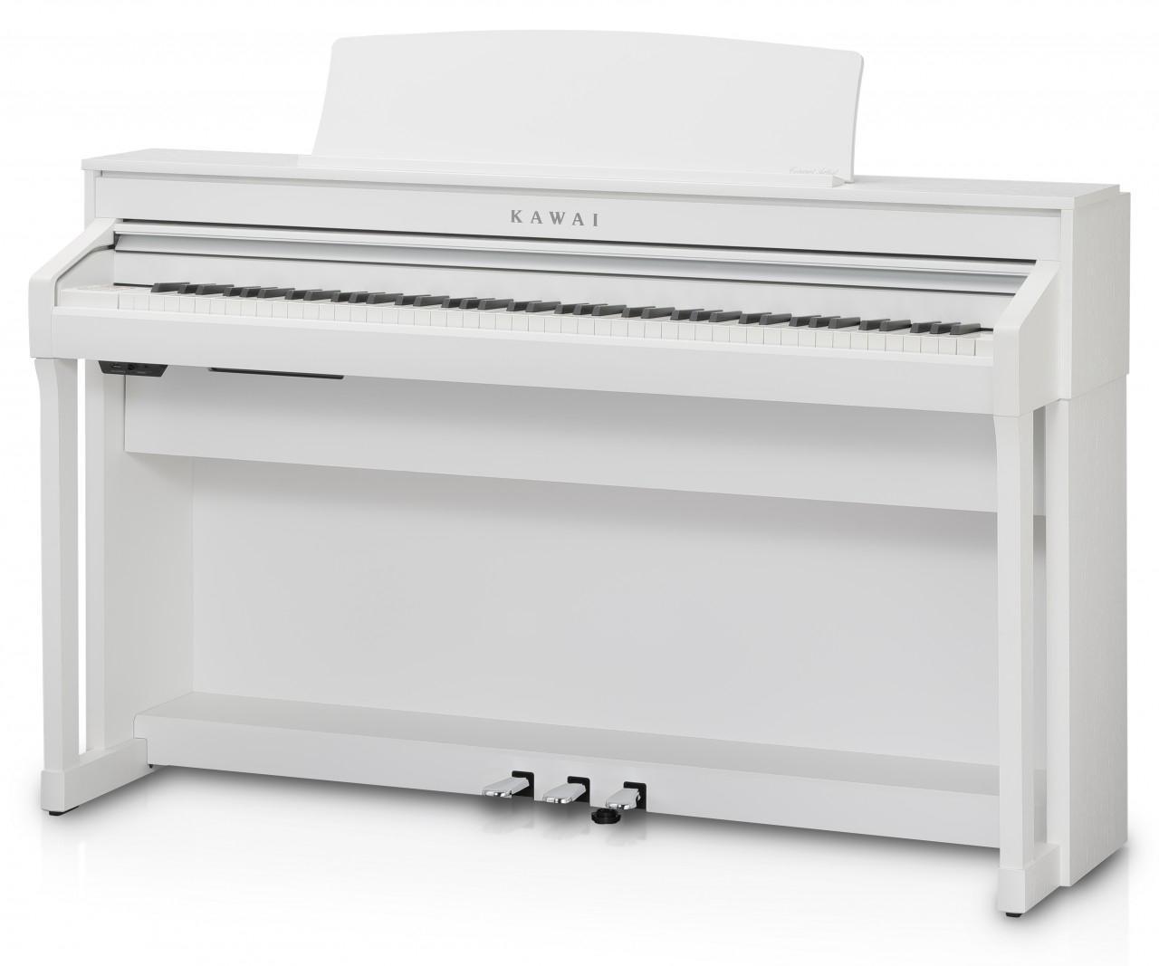 Kawai CA 58 W Digitalpiano Weiß satiniert