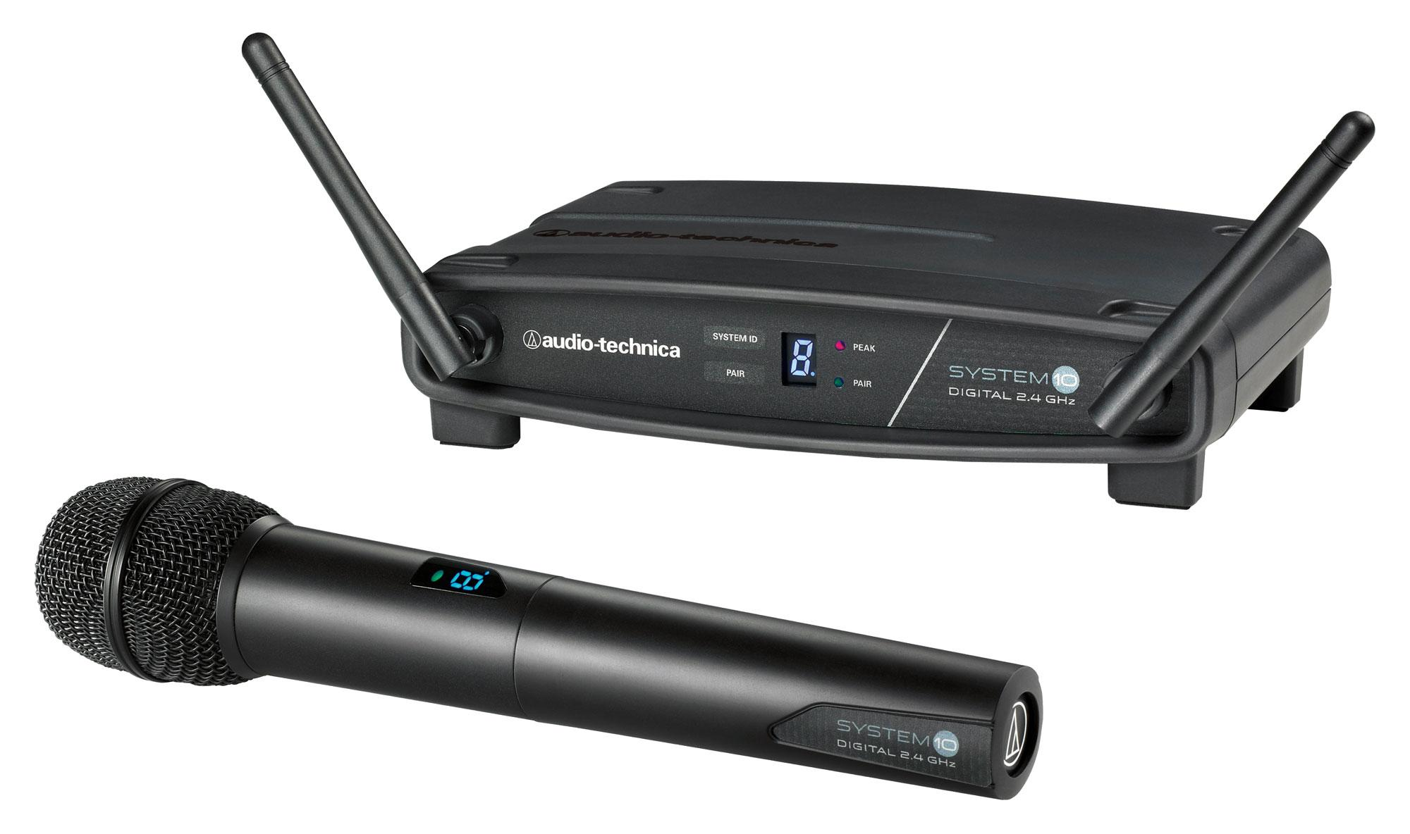 Drahtlossysteme - Audio Technica ATW 1102 Handheld Funkset - Onlineshop Musikhaus Kirstein