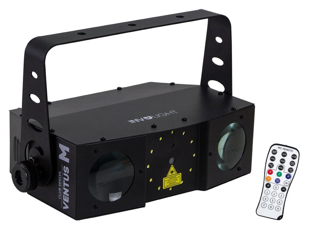 Lichteffekte - Involight VENTUS M Hybrid LED DMX Laser Flower - Onlineshop Musikhaus Kirstein