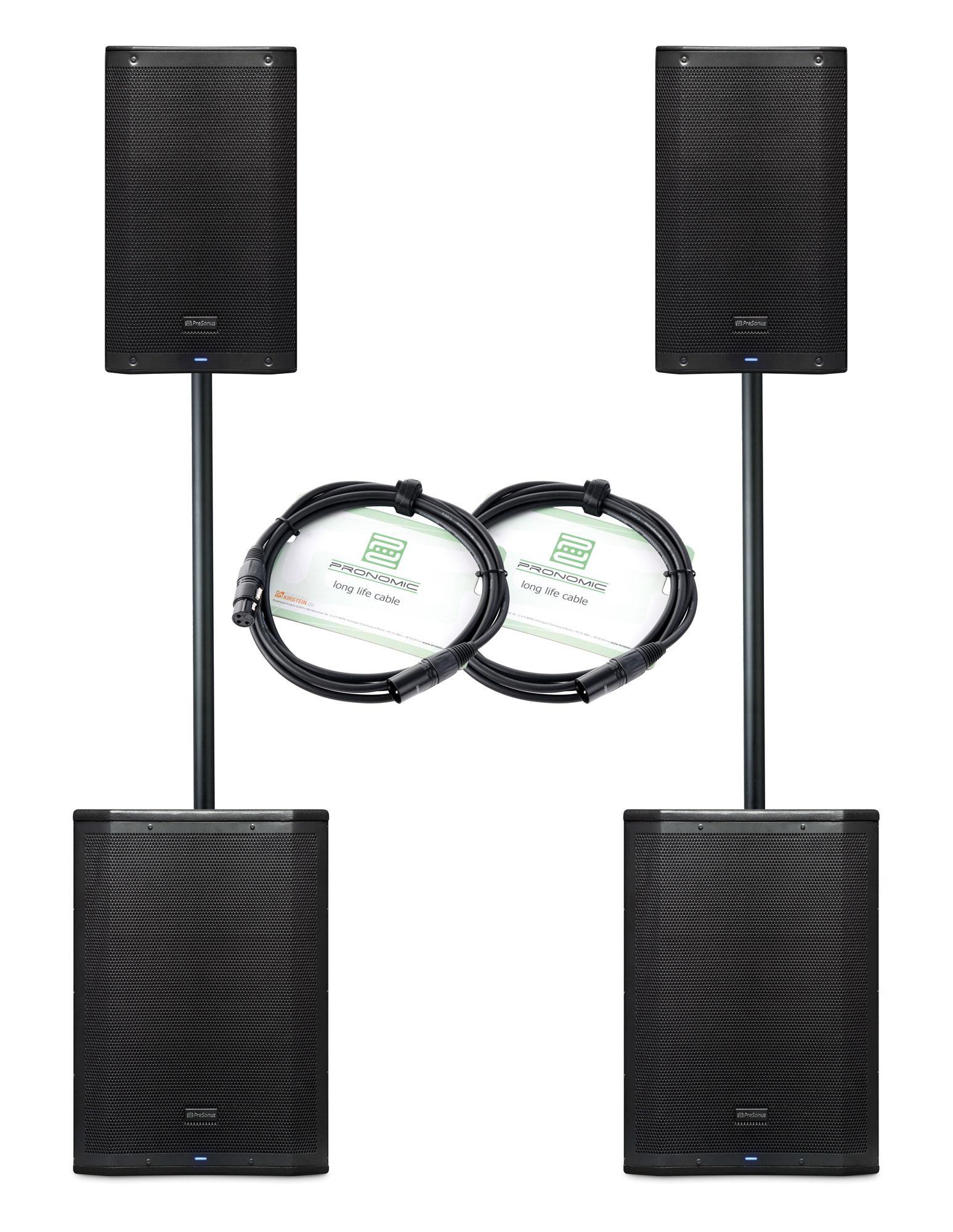 PreSonus AIR Aktiv Stereo Lautsprecher Set