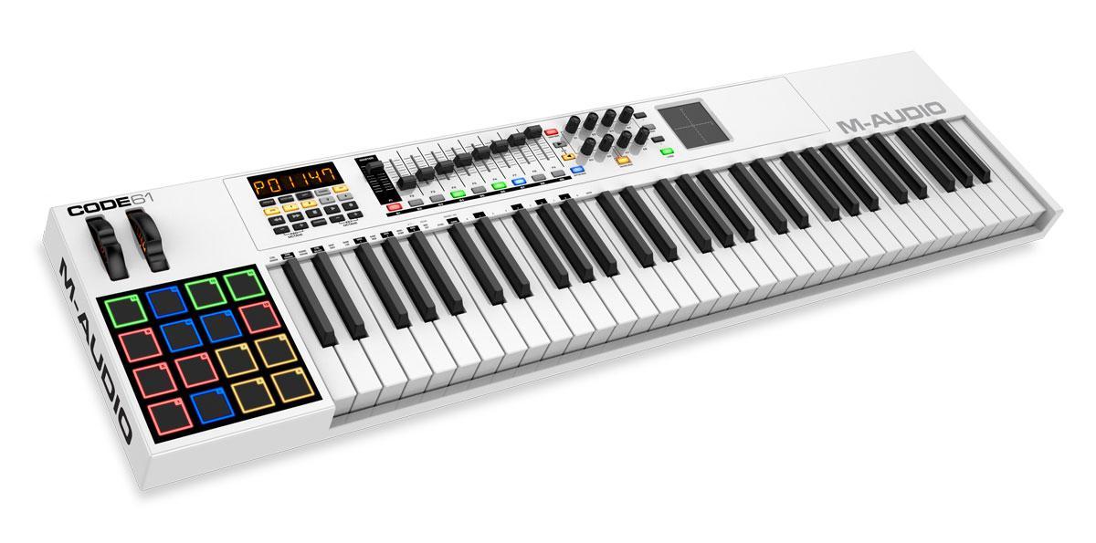 M Audio Code 61 USB|MIDI Controller
