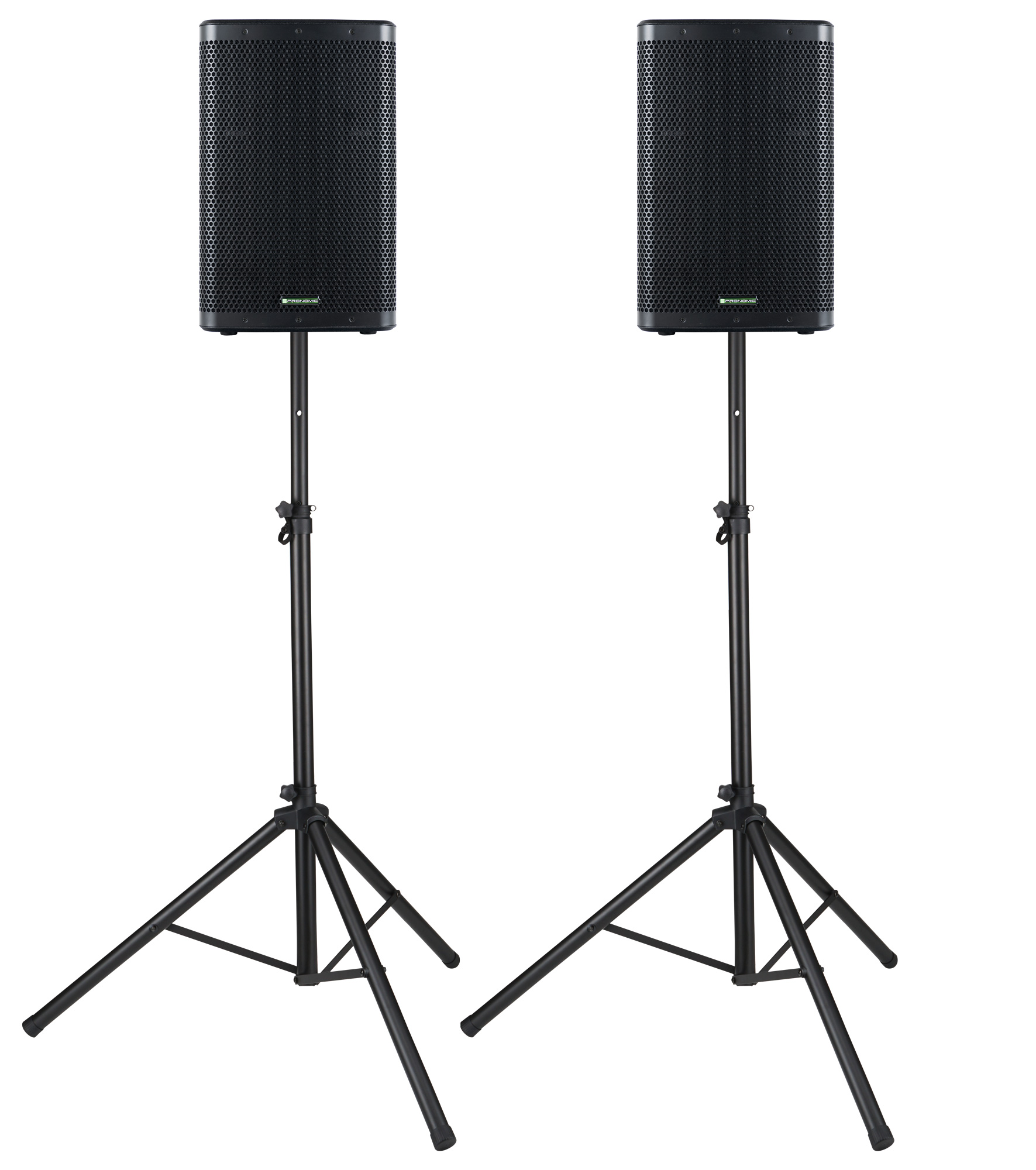 Paboxen - Pronomic C 212 MA 12 Aktivbox 2000 Watt Stativ Set - Onlineshop Musikhaus Kirstein