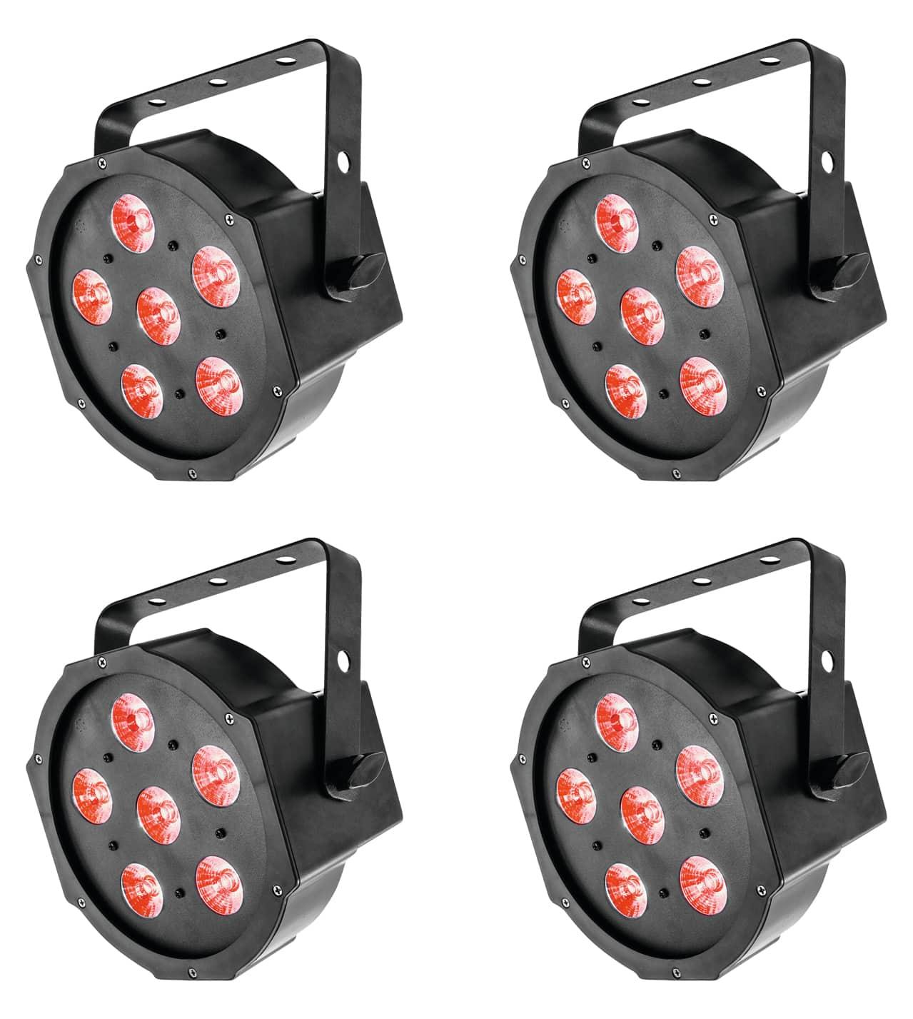 Lichtsets - Eurolite LED SLS 6 TCL Spot 4er Set - Onlineshop Musikhaus Kirstein