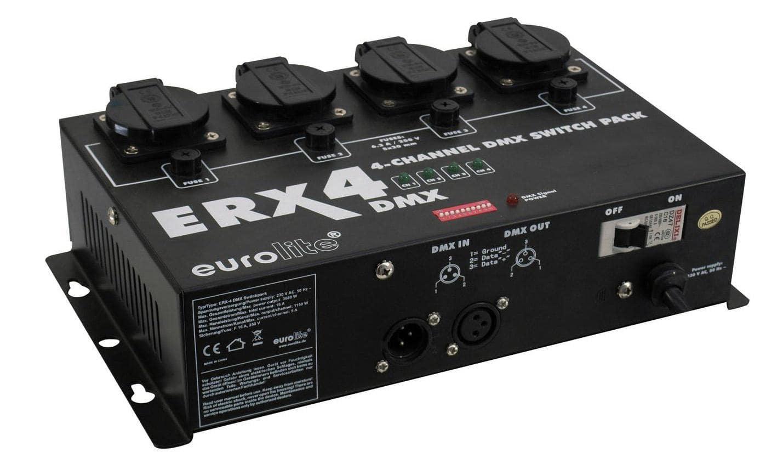 Lichtsteuerung - Eurolite ERX 4 DMX Switchpack - Onlineshop Musikhaus Kirstein