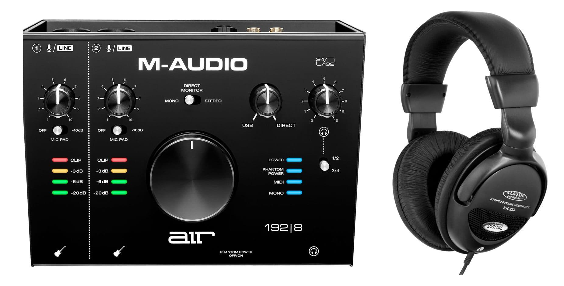 Pchardware - M Audio AIR 192|8 Interface Set - Onlineshop Musikhaus Kirstein