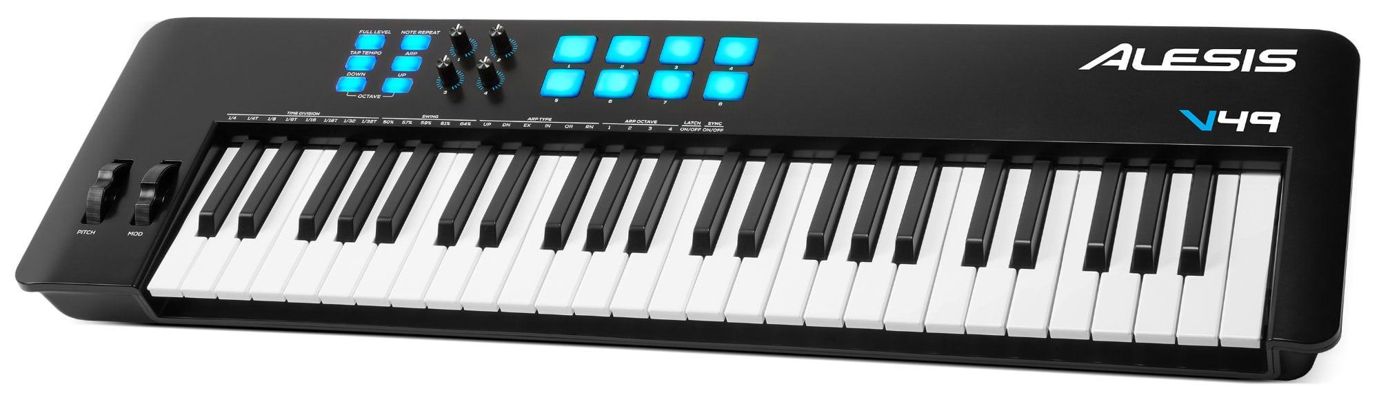 Midimasterkeyboards - Alesis V49 MKII MIDI Controller Keyboard - Onlineshop Musikhaus Kirstein