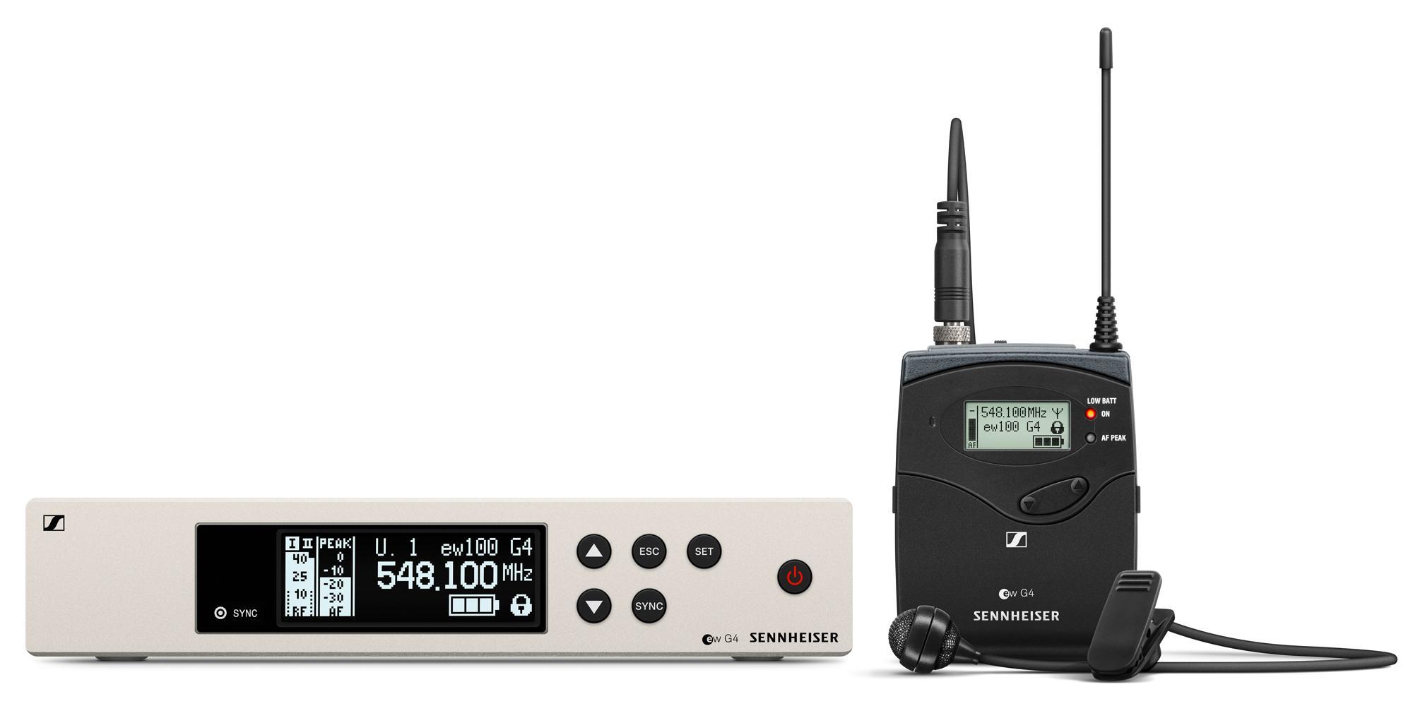 Sennheiser EW 100 G4 ME4 Lavalier Funkset 1G8