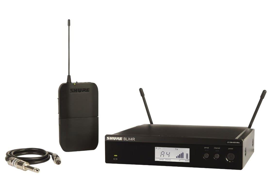 Drahtlossysteme - Shure BLX14R S8 Instrument Rack Funksystem - Onlineshop Musikhaus Kirstein