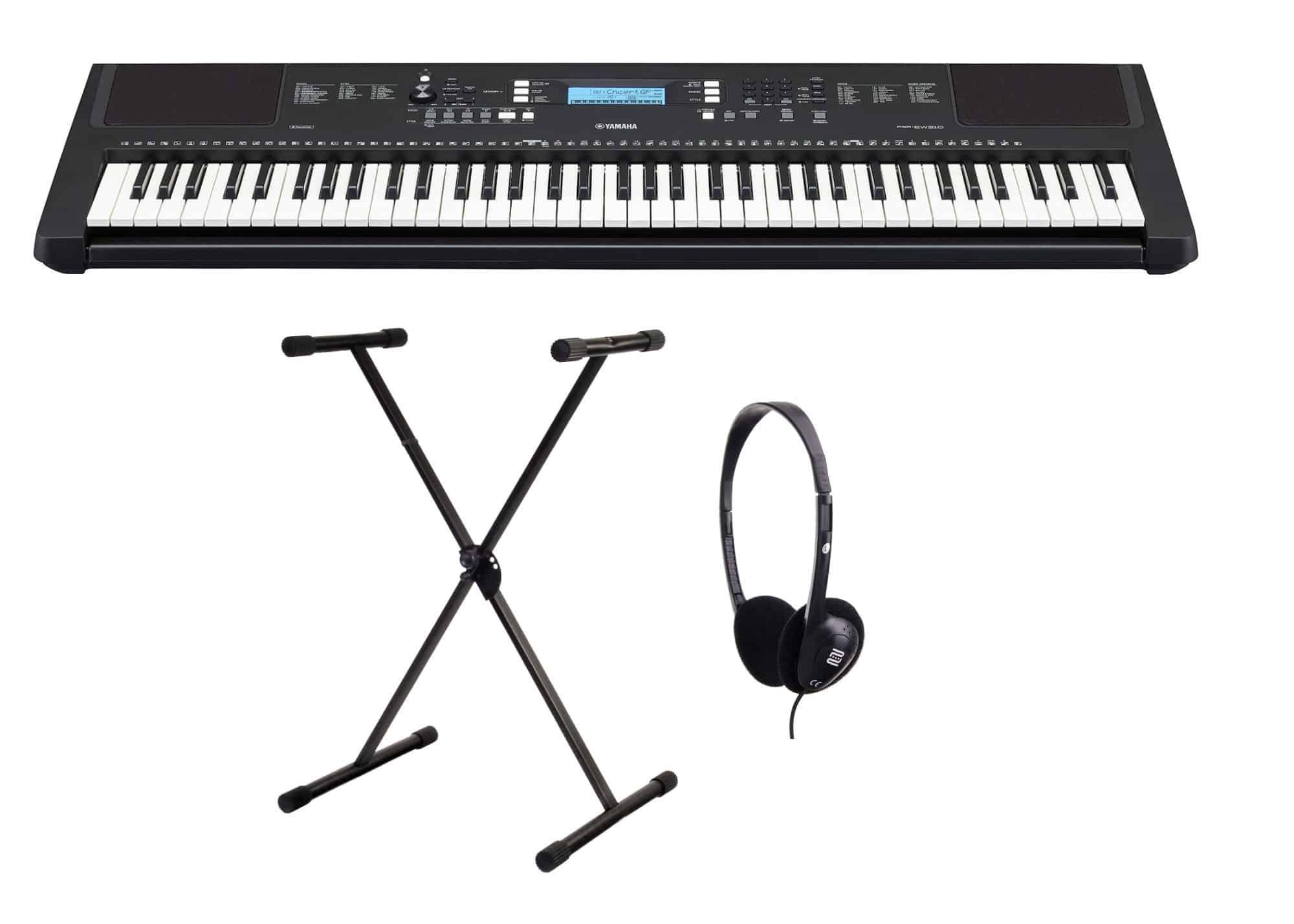 Homekeyboards - Yamaha PSR EW310 Keyboard Set - Onlineshop Musikhaus Kirstein