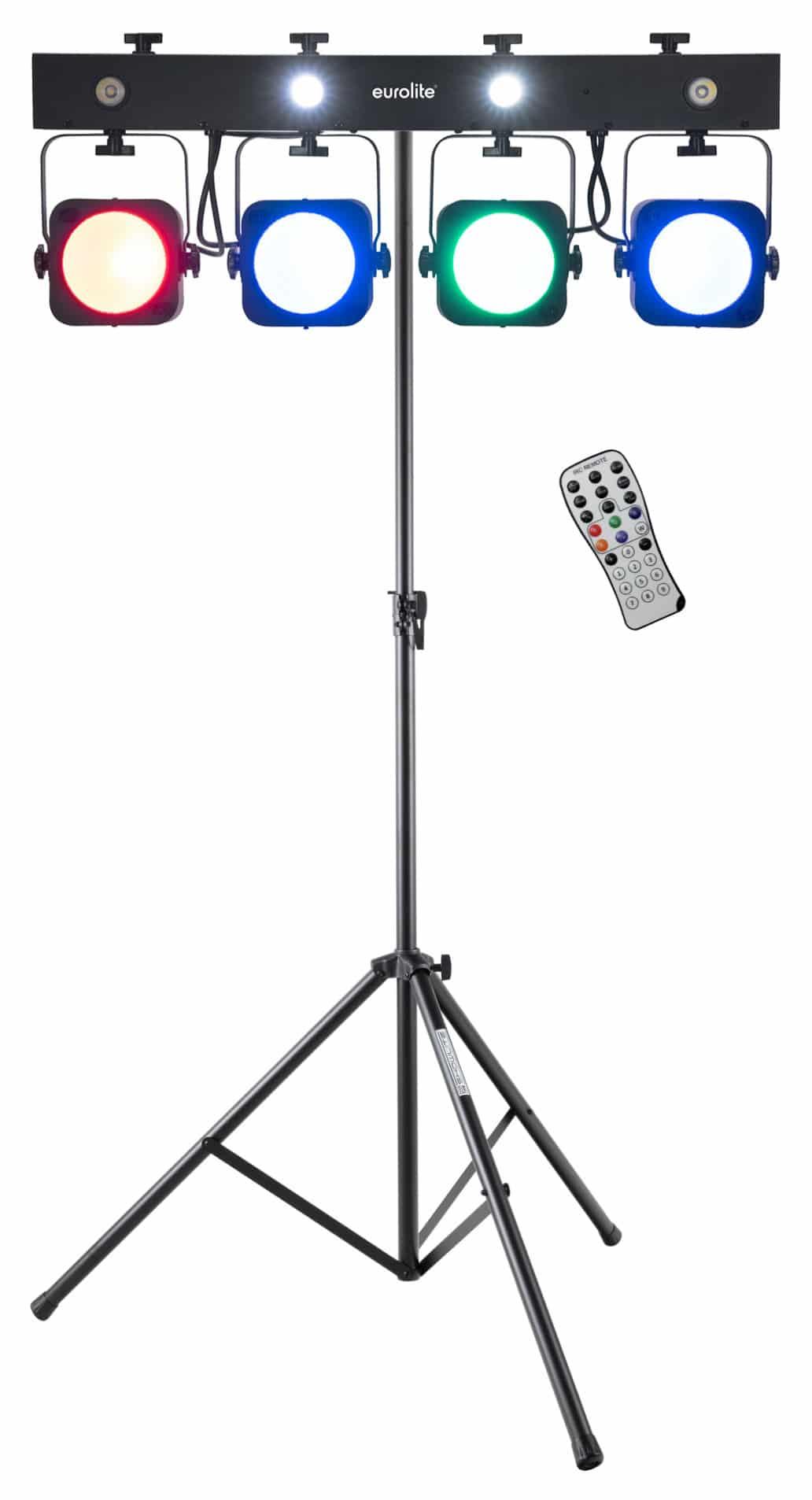 Lichtsets - Eurolite LED KLS 190 Kompakt Lichtset mit Stativ - Onlineshop Musikhaus Kirstein