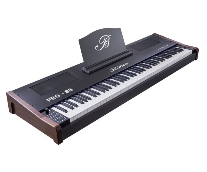 Blüthner e-Klavier PRO 88 Stagepiano, Nussbaum