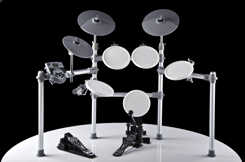 XDrum DD 516 E Drum Set, weiß