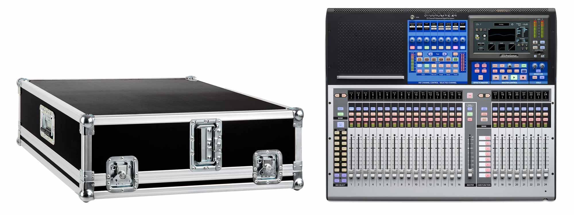 PreSonus StudioLive 24 Series III Set mit Case