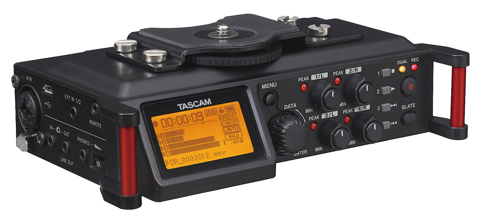 Recording - Tascam DR 70D Digitalrecorder - Onlineshop Musikhaus Kirstein