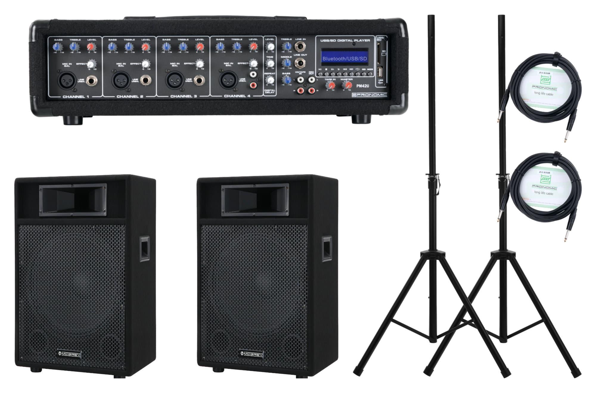 Pronomic PM42 112 StagePower Set Aktivanlage