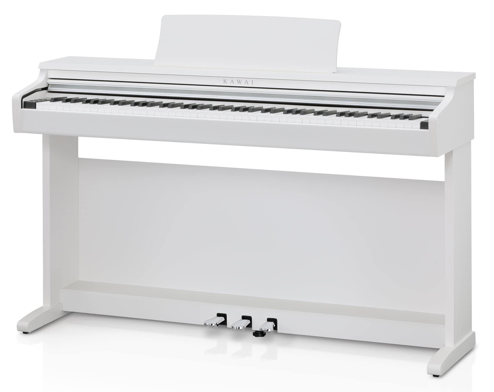 Digitalpianos - Kawai KDP120 W Digitalpiano Premium Weiß satiniert - Onlineshop Musikhaus Kirstein