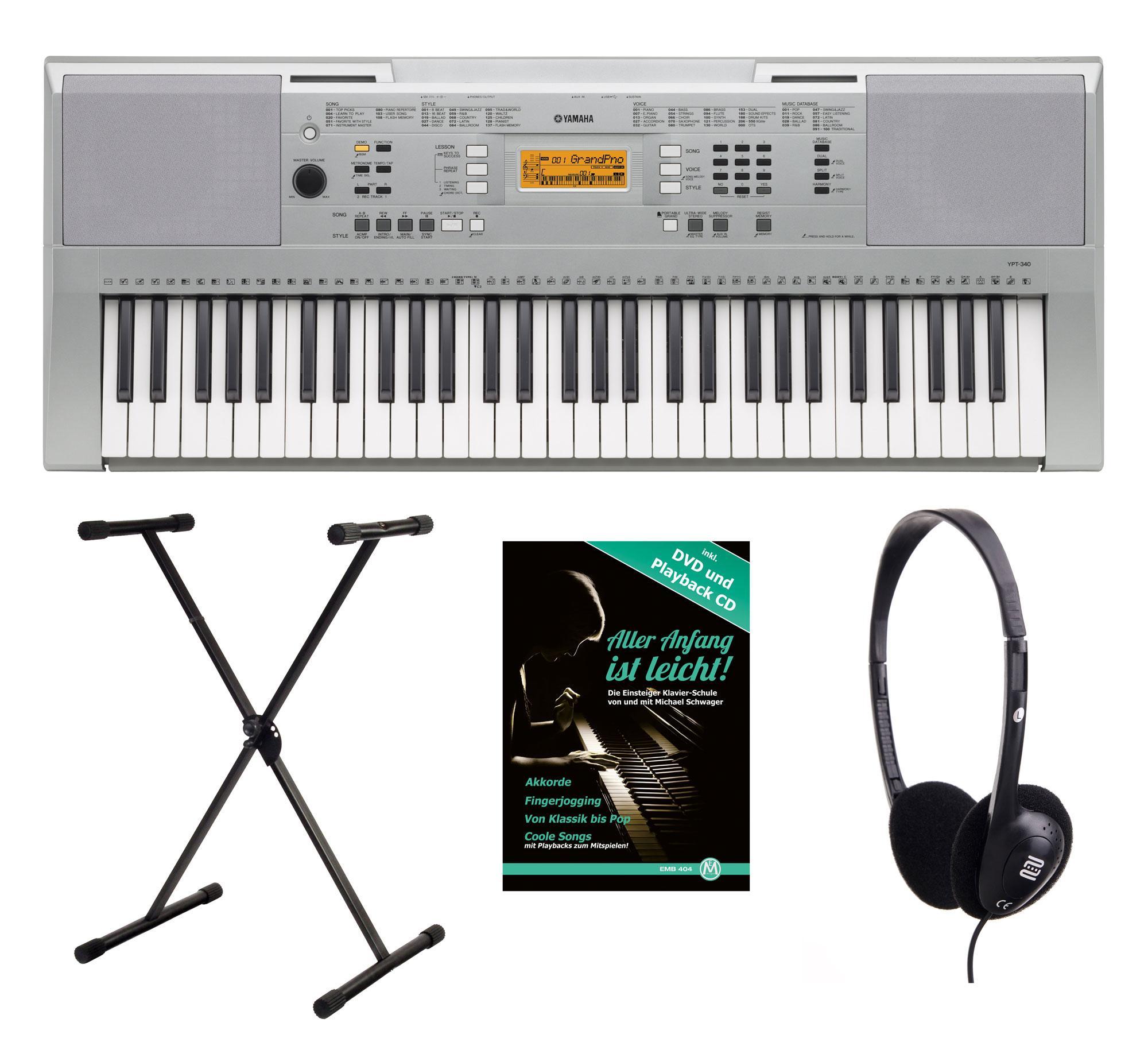 Yamaha YPT-340 Keyboard Set YPT-340 SET