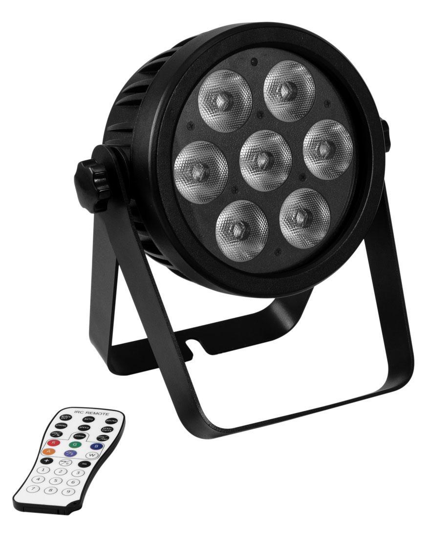 Scheinwerfer - Eurolite LED 7C 7 Silent Slim Spot - Onlineshop Musikhaus Kirstein