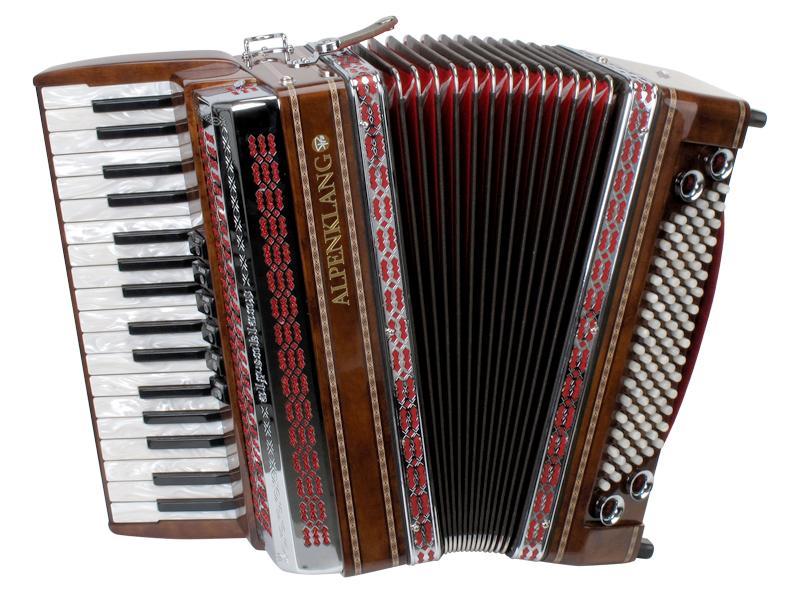 Akkordeons - Alpenklang Pro Akkordeon III 96 Tasten Steirische - Onlineshop Musikhaus Kirstein