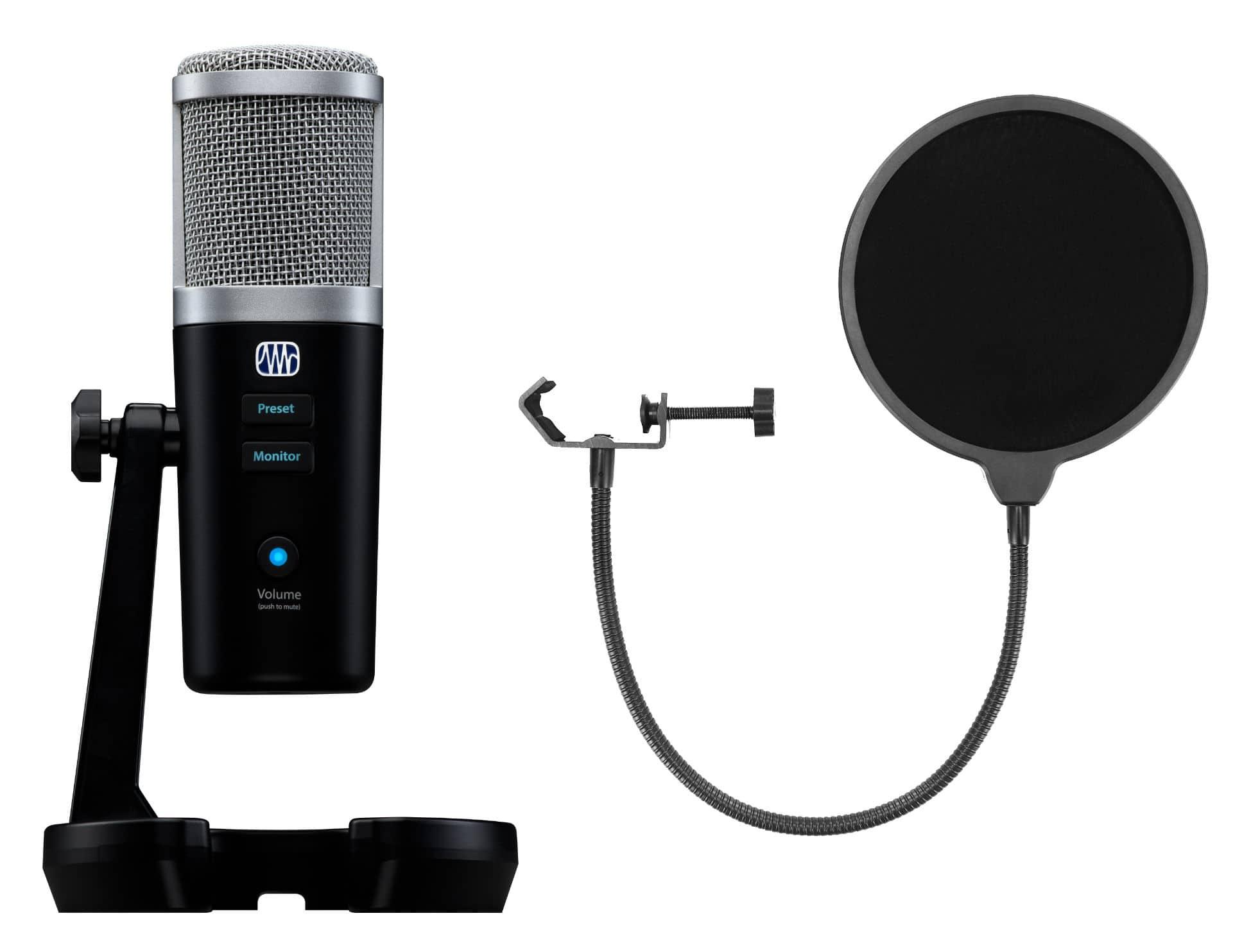 Mikrofone - Presonus Revelator USB Mikrofon Set - Onlineshop Musikhaus Kirstein