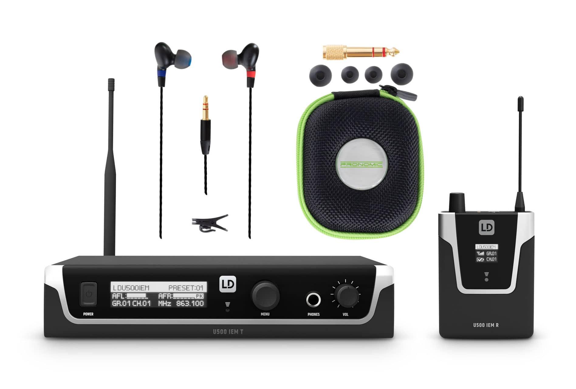 Drahtlossysteme - LD Systems U508 IEM In Ear Monitoring System Set 2 - Onlineshop Musikhaus Kirstein