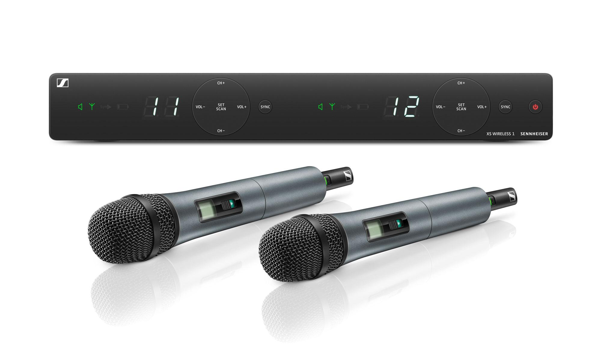 Drahtlossysteme - Sennheiser XSW 1 825 Dual Wireless - Onlineshop Musikhaus Kirstein