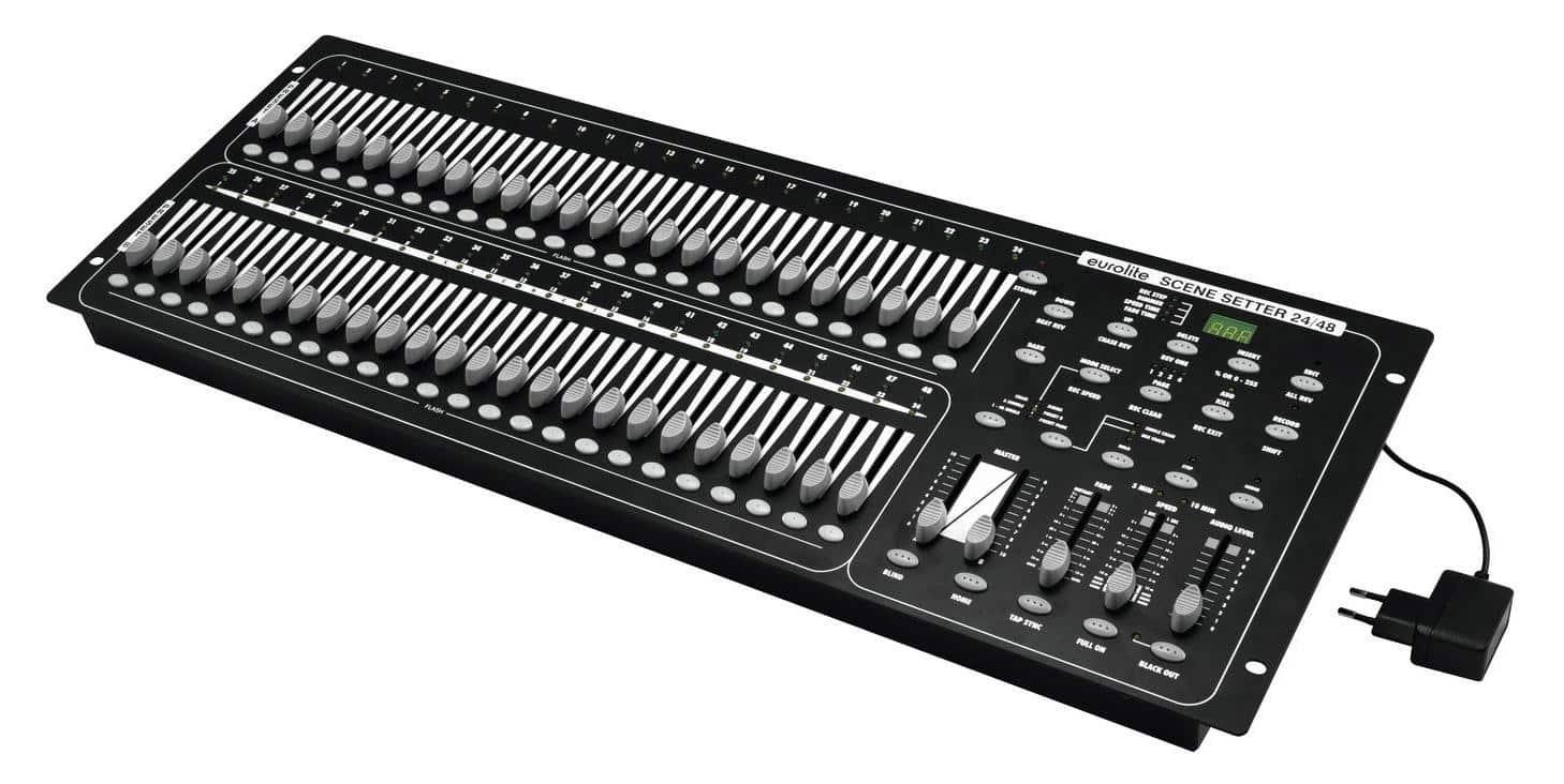 Lichtsteuerung - Eurolite DMX Scene Setter 24|48 Controller - Onlineshop Musikhaus Kirstein