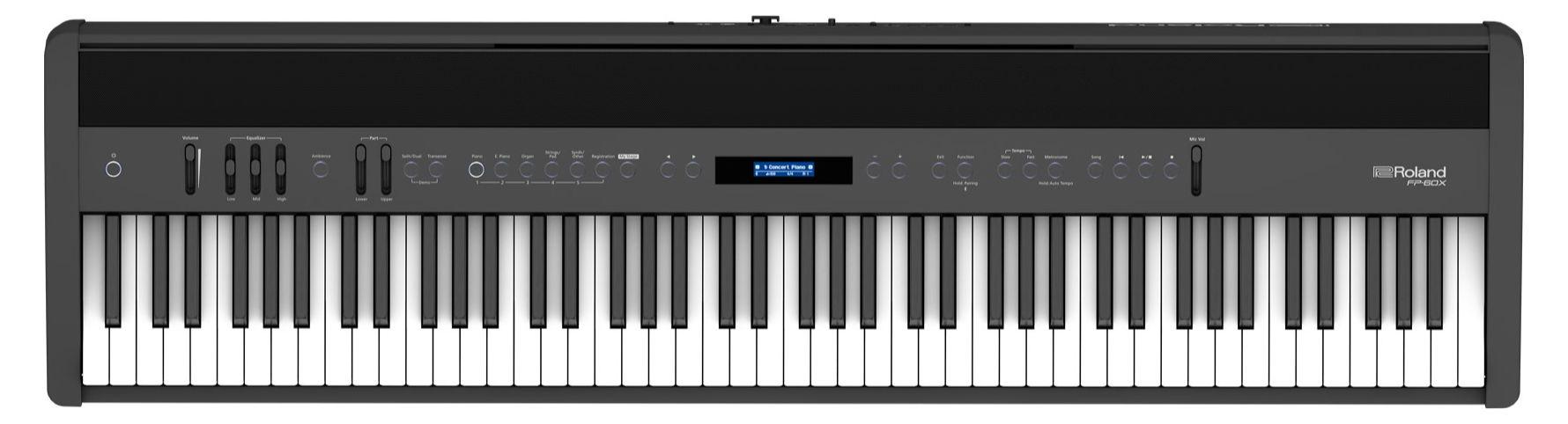 Stagepianos - Roland FP 60X BK Stagepiano Schwarz - Onlineshop Musikhaus Kirstein