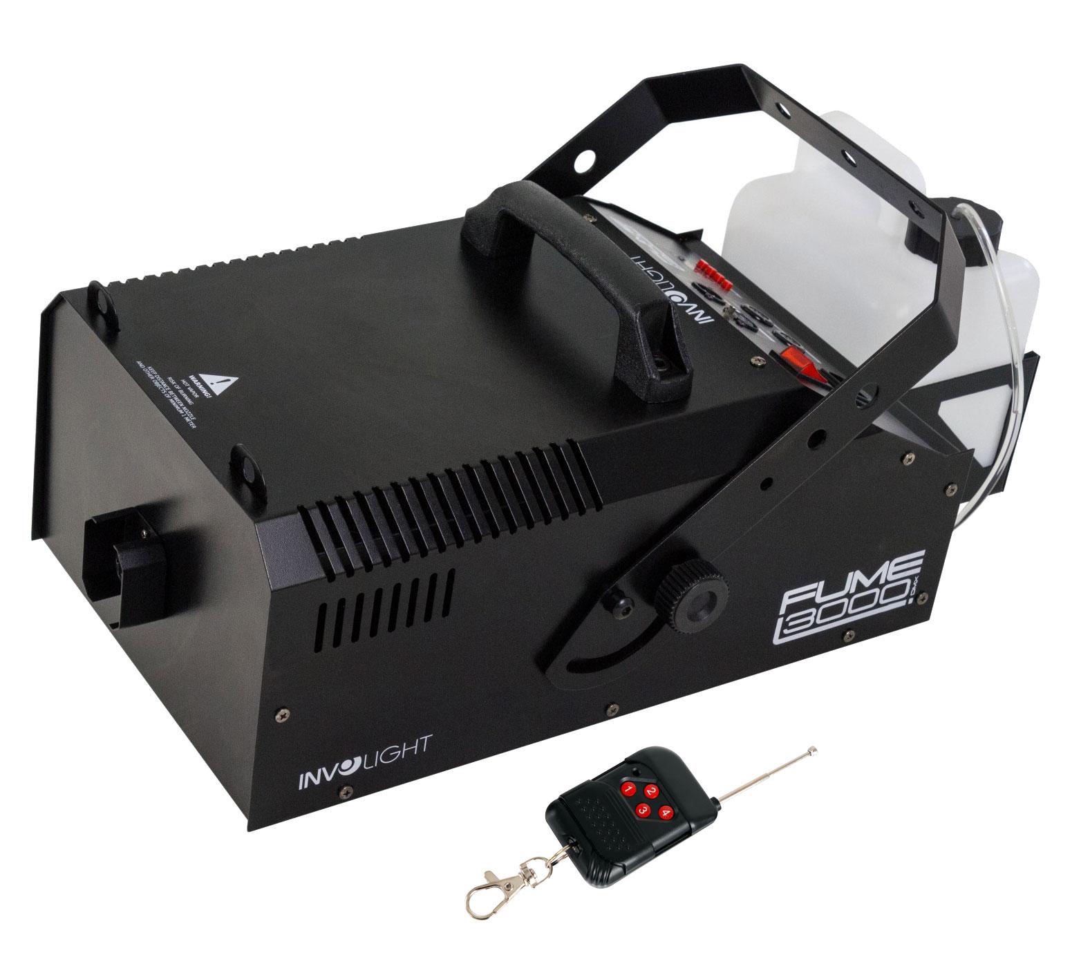 Nebeleffekte - Involight Fume 3000 DMX Nebelmaschine - Onlineshop Musikhaus Kirstein