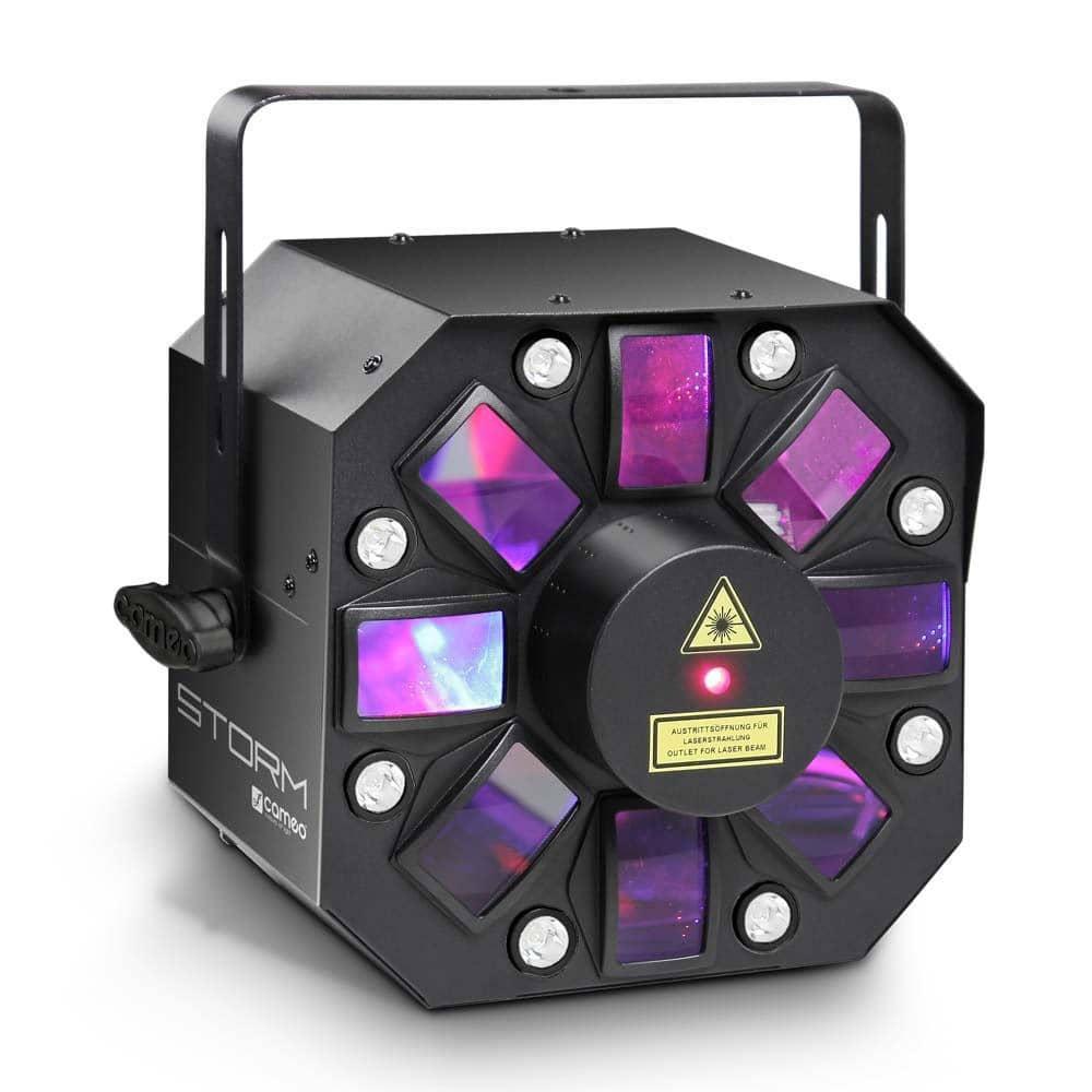 Lichteffekte - Cameo STORM Hybrid LED Laser Flower - Onlineshop Musikhaus Kirstein