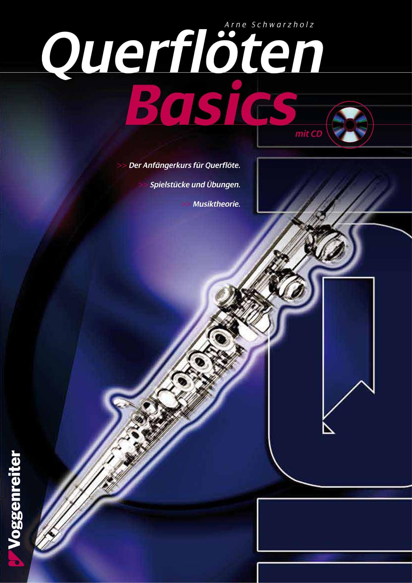 Floetelernen - Querflöten Basics CD - Onlineshop Musikhaus Kirstein