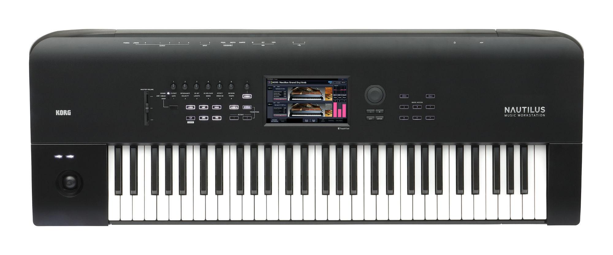 Synthesizer - Korg Nautilus 61 - Onlineshop Musikhaus Kirstein